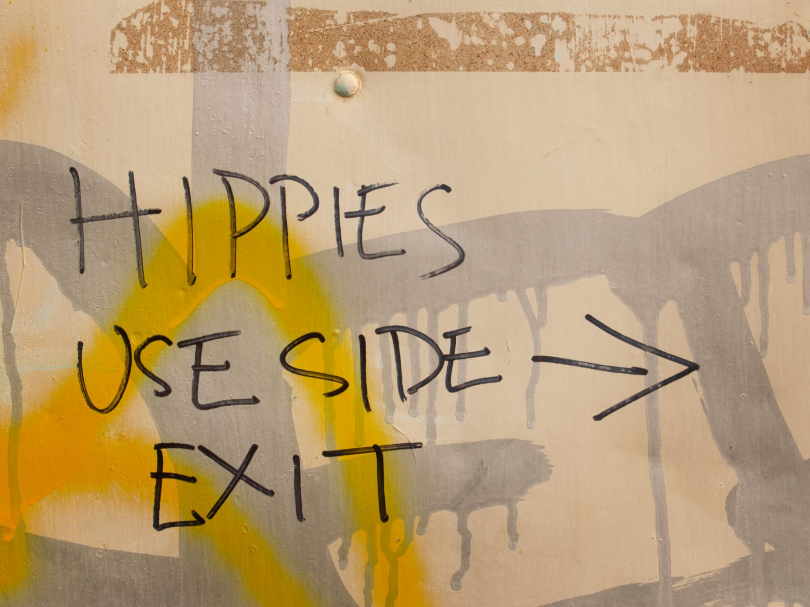 A photo of Graffiti illustrating an article about Ethical Menswear