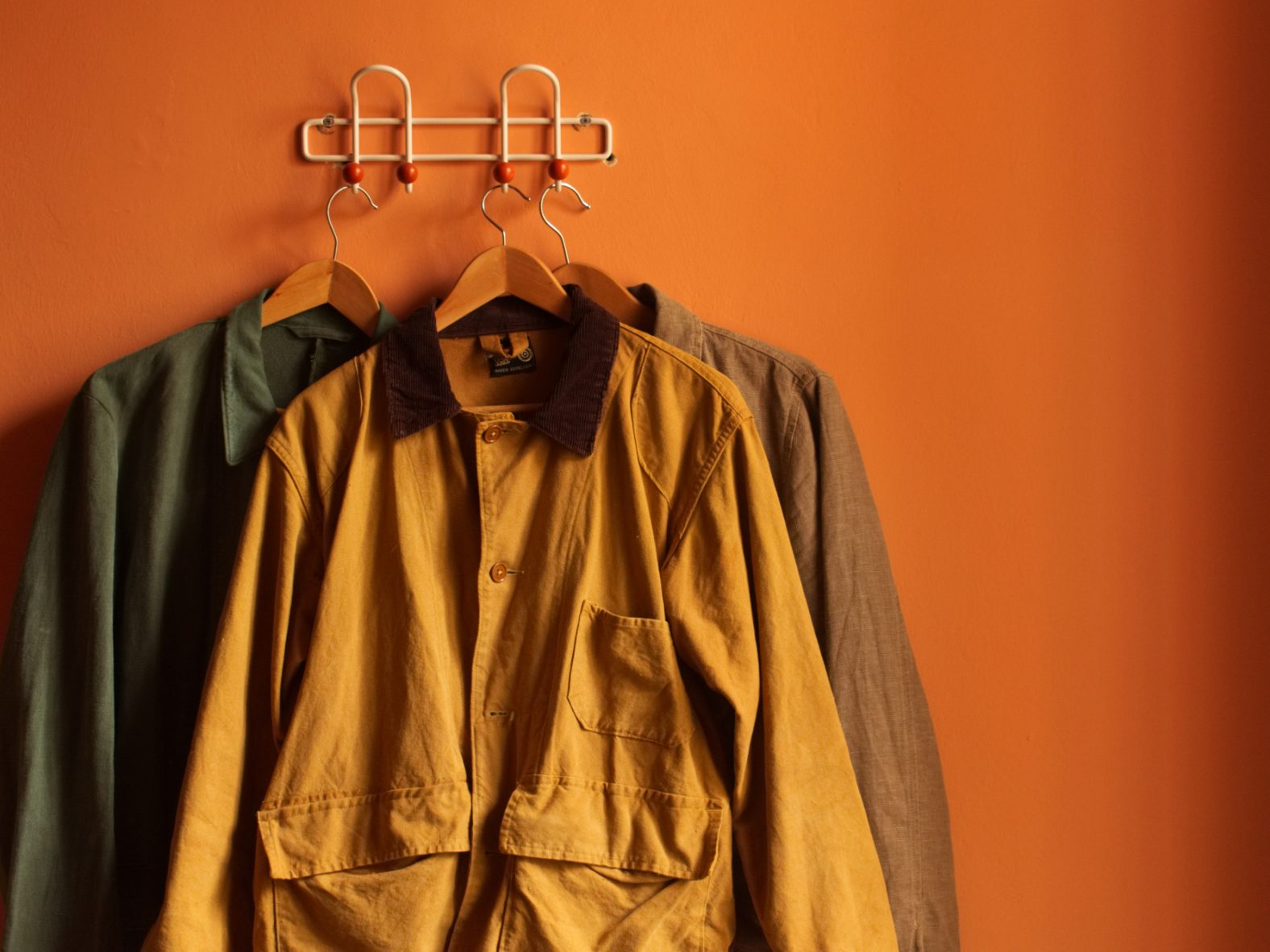 Is it more ethical to buy vintage clothing such as bleu du travail vintage French work jackets and L.L. Bean hunting jackets?