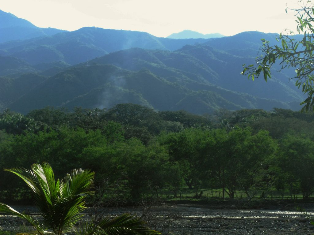 Mountains in Colombia