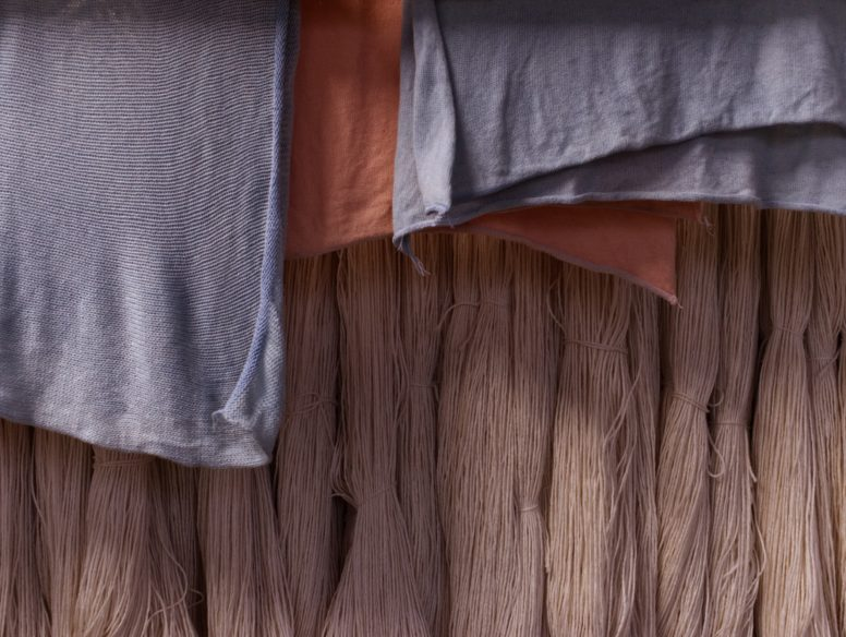 Naturally dyed textiles may be central to creating a sustainable fashion industry